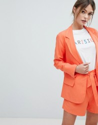 Oasis Tailored Jacket - Orange