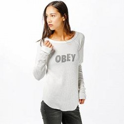 Obey Longsleeve - Obey Jumbled