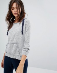 Ocean Drive Terry Pull On Hoody - Grey
