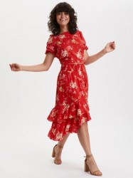 Odd Molly - Marvelously Free Skirt - Red Tulip