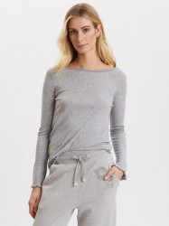 Odd Molly - My Dearest One Top - Light Grey Melange