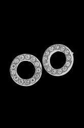 Øreringe Spark Small Coin Ring