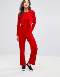 Oeuvre Jumpsuit - Red