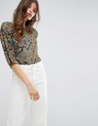 Oeuvre Printed Top - Yellow