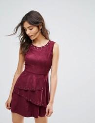 Oeuvre Skater Dress - Red