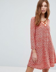Oeuvre Swing Dress - Red