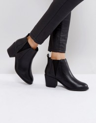 Office Agenda Ankle Boots - Black