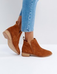 Office Andreas Suede Ankle Boots - Tan