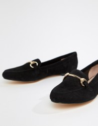 Office Fastlane black suede loafers - Black