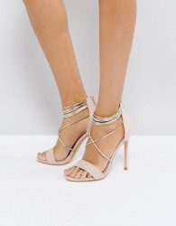 Office Hollywood Blush Heeled Sandals - Pink
