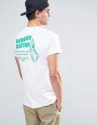 OK-YO Pickle Back Print T-Shirt - White