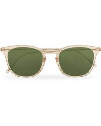 Oliver Peoples Heaton Sunglasses Buff/Green men One size Transparent