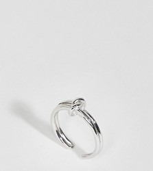 Olivia Burton 18k Silver Plated Forget Me Knot Ring - Silver