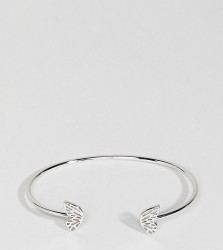 Olivia Burton Butterfly Wing Bangle - Silver