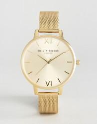 Olivia Burton Gold Sunray Mesh Watch - Gold
