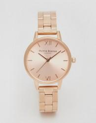 Olivia Burton OB13BL05B Midi Dial Bracelet Watch In Rose Gold - Gold