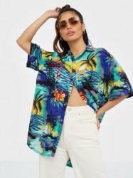 One Teaspoon Hawaiian Shirt Skjorter