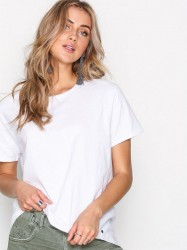 One Teaspoon Invctus Raw Cotton T Toppe White