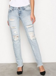 One Teaspoon Straight Leg Jean Straight Blue