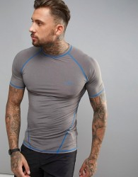 O'Neill Active Slim Fit Short Sleeve T-Shirt in Grey - Grey