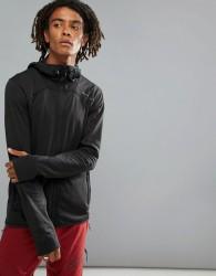O'Neill Activewear Easy Full Zip Hoodie Hyperdry in Black - Black