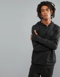 O'Neill Activewear Force Half Zip Hoodie Hyperdry in Black - Black