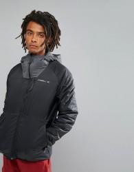 O'Neill Activewear Kinetic Insulated Windbreaker Jacket in Black - Black