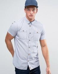 O'Neill Cut Back Short Sleeve Shirt - Navy