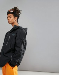 O'Neill Exile Ski Jacket in Black - Black
