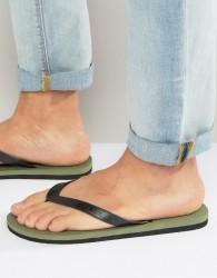 O'Neill Friction Flip Flops - Green
