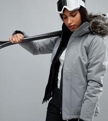 O'Neill Ski Faux Fur Hood Jacket - Blue