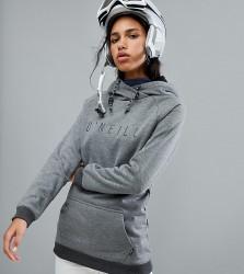 O'Neill Ski Logo Hooded Fleece Basselayer - Grey