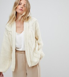 OneOn Hand Knitted Cable Cardigan - Cream