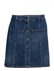 Onlfie Reg Button Dnm Skirt Bj9983