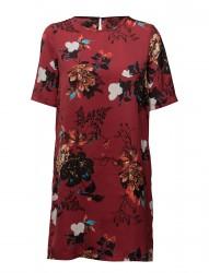 Onlriga S/S Tee Dress Aop Wvn
