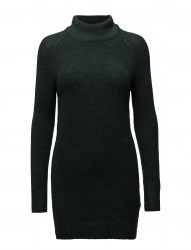 Onltrust L/S Highneck Dress Knt Rp