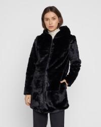 ONLY Chris Faux Fur Hooded jakke