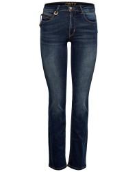 "ONLY Ella Reg Straight Jeans (MØRKEBLÅ, 30"", 28)"