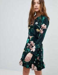 Only Floral Wrap Dress - Multi