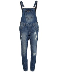 "ONLY Kim Witty Dnm Overall (Denim, 32"", 40)"