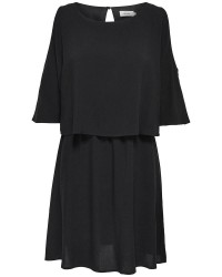 ONLY Laura cold shoulder dress (HVID, 36)