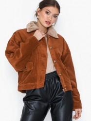 Only Onlbitten Cord Button Fur Jacket Øvrige jakker
