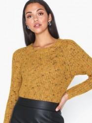 Only Onlhanni L/S O-Neck Pullover Knt Strikkede trøjer