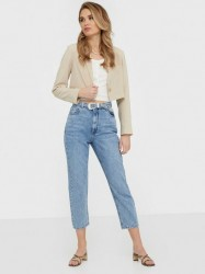 Only Onlkyle Life Hw Mom Crop Dnm Jeans Loose fit