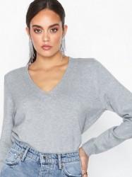 Only onlLESLY V-Neck Pullover Ex Knt Strikkede trøjer