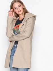 Only onlSEDONA Light Coat Otw Noos Frakker Beige