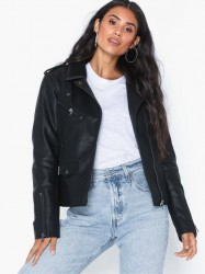 Only Onltaylor Faux Leather Biker Otw Læderjakker