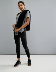 Only Play Sheer Panel Training Legging - Black