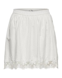 ONLY Sara alined short skirt (HVID, 36)
