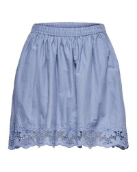 ONLY Sara alined short skirt (LYSEBLÅ, 42)